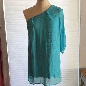 Modcloth one shoulder dress